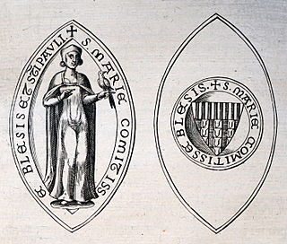 Countess suo jure of Blois