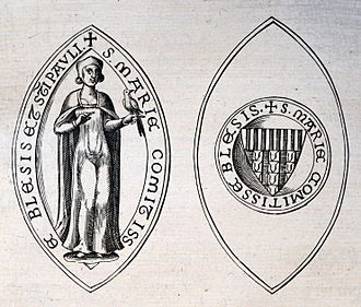 Mary, Countess of Blois - Seal