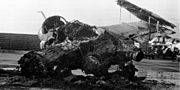 Marine A-6 Intruder destroyed at Danang Airfield 1968