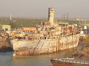 SS Maritime Victory - Maritime Victory at Brownsville, Texas, June 2006