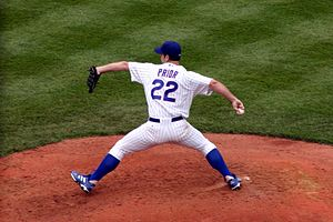 Mark Prior - Prior pitching for the Cubs at Wrigley Field on July 30, 2004