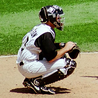 Mark Johnson (catcher) - Johnson with the White Sox in 1999