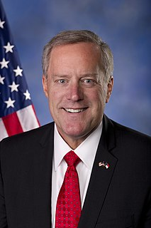 Mark Meadows (North Carolina politician) U.S. Representative from North Carolina