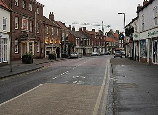 Market Weighton Town and civil parish in the East Riding of Yorkshire, England