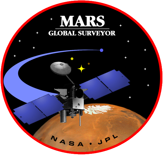 Mars Global Surveyor - patch transparent