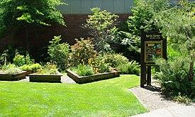 Martha Springer Botanical Garden Entrance.JPG