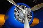 Martin B-10 engine detail, National Museum of the US Air Force, Dayton, Ohio, USA. (44766709511).jpg