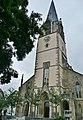 """Martinskirche in Möhringen, """"Filderdom"""", von Christian Friedrich Leins 1852 - 1855 erbaut, neugotischer Kirchenbau, 1944 ausgebrannt nach Fliegerangriff, 1949 wieder eingeweiht - panoramio.jpg"""