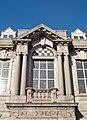Masonic Temple, Crown Street, Aberdeen, first floor detail main facade, Harbourne Maclennan, Jenkins and Marr, 1910.jpg