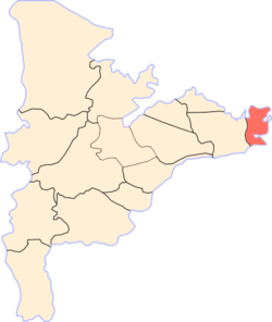 Location of Mataria in Dakahlia Governorate.