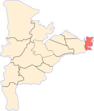 El Matareya - Location of Mataria in Dakahlia Governorate.