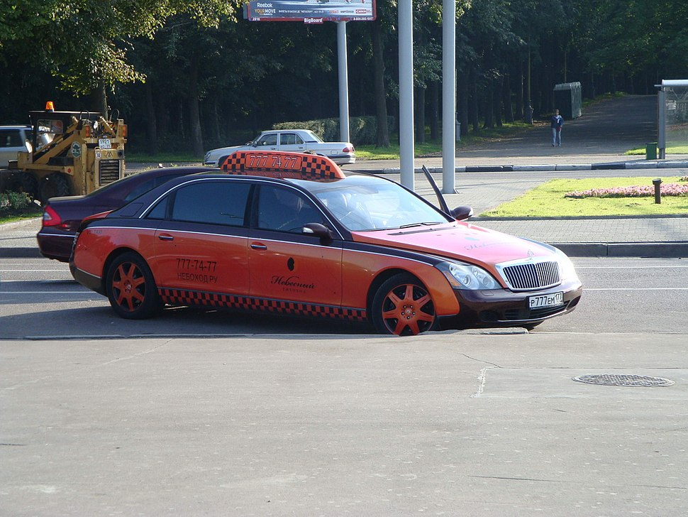 Maybach taxi Moscow