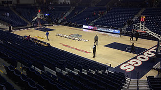 Gonzaga Bulldogs men's basketball - The McCarthey Athletic Center has been home to Gonzaga's basketball teams since 2004.