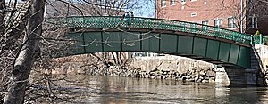 Medford Pipe Bridge - Image: Medford MA Medford Pipe Bridge
