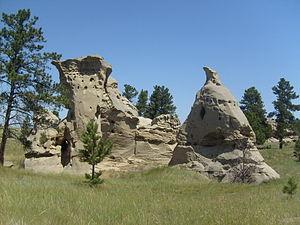 Medicine Rocks State Park - Medicine Rocks State Park