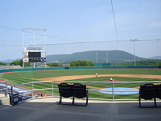 State College, Pennsylvania - Medlar Field at Lubrano Park, home of the State College Spikes