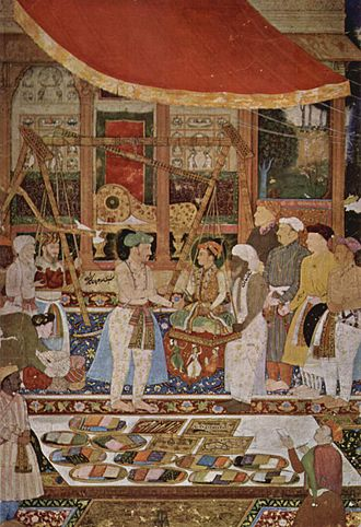 History of measurement systems in India - Image: Meister der Jahângîr Memoiren 001