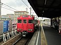 Meitetsu 6000 series at Hekinan Chūō Station.jpg