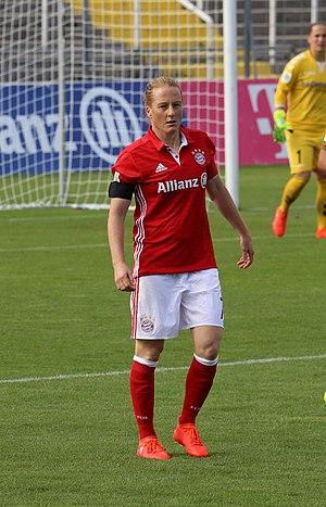 Melanie Behringer - Behringer with Bayern Munich in 2016