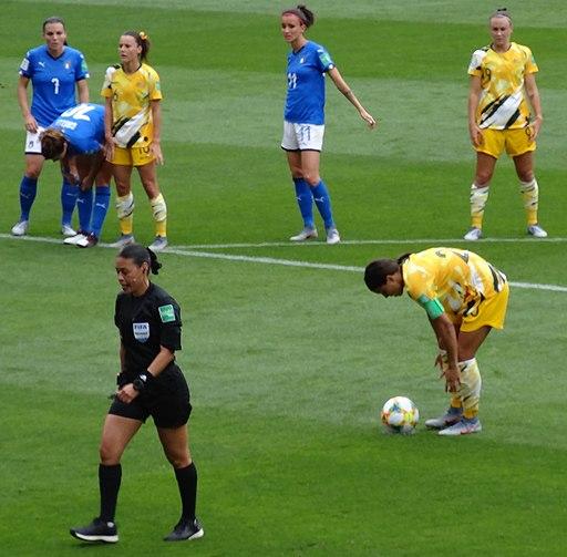 Melissa Borjas (referee) Women's World Cup VAR