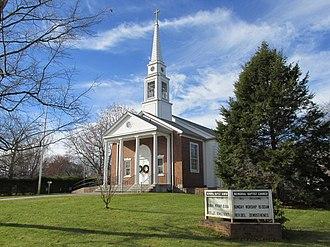 North Seekonk, Massachusetts - Memorial Baptist Church