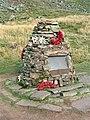 Memorial at Wellington Bomber R1465 crash site - geograph.org.uk - 401228.jpg
