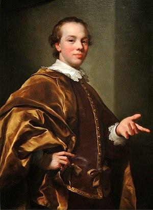 John Stewart, 7th Earl of Galloway - Stewart as Master of Garlies by Anton Raphael Mengs, 1758