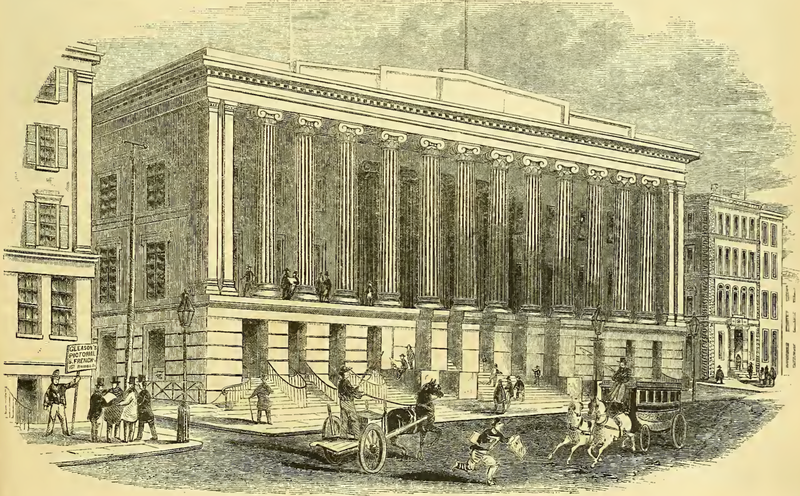 File:Merchants' Exchange, Wall Street, New York City.png
