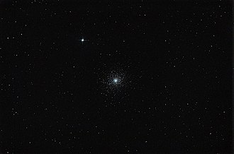 Messier 5 - M5 photographed with a DSLR camera.