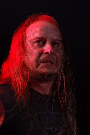 Lars Göran Petrov - Lars Göran Petrov performing at Metalmania 2007