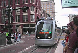 O-Train - The S-70 (shown METRORail in Houston) was set to replace the current Trillium Line fleet.