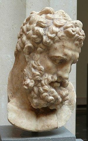 Tinjis - Image: Metropolitan marble head of Herakles Roman 1C AD