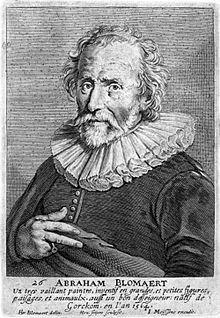 Porträt Abraham Bloemaerts von Johannes Meyssens (Quelle: Wikimedia)