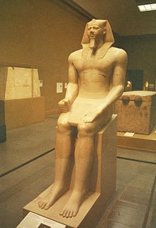 MfA Boston - Colossal statue of Menkaura.jpg