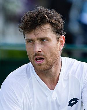 Michael Berrer - Image: Michael Berrer 1, 2015 Wimbledon Qualifying Diliff