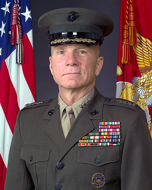 Michael Hagee - General Michael W. Hagee, 33rd Commandant of the Marine Corps (2003–2006)
