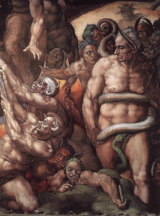 Michelangelo, Giudizio Universale 29