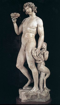 Bacchus (Michelangelo) - Wikipedia, the free encyclopedia