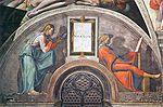 Michelangelo Sistine Chapel ceiling - Naason restored.jpg