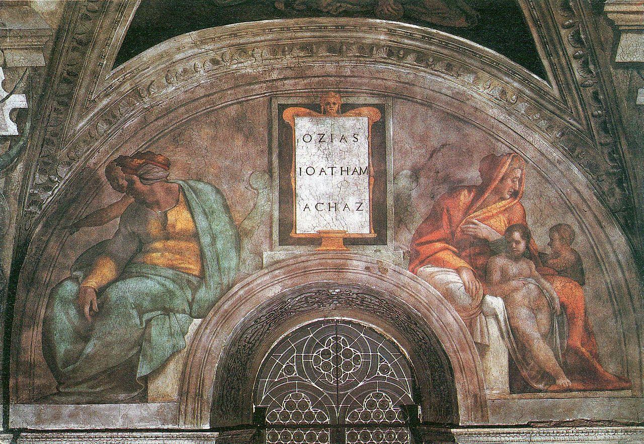 File Michelangelo Sistine Chapel Ceiling Ozias Jethan Und