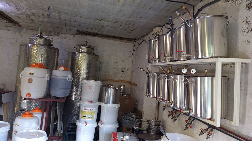 Microbrewery's Zymotik based Montreuil, Seine-Saint-Denis, France