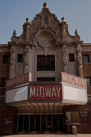 Das Rockford Midway Theater in Downtown Rockford