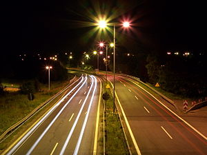 National road 81 (Poland) - Image: Mikołow DK81