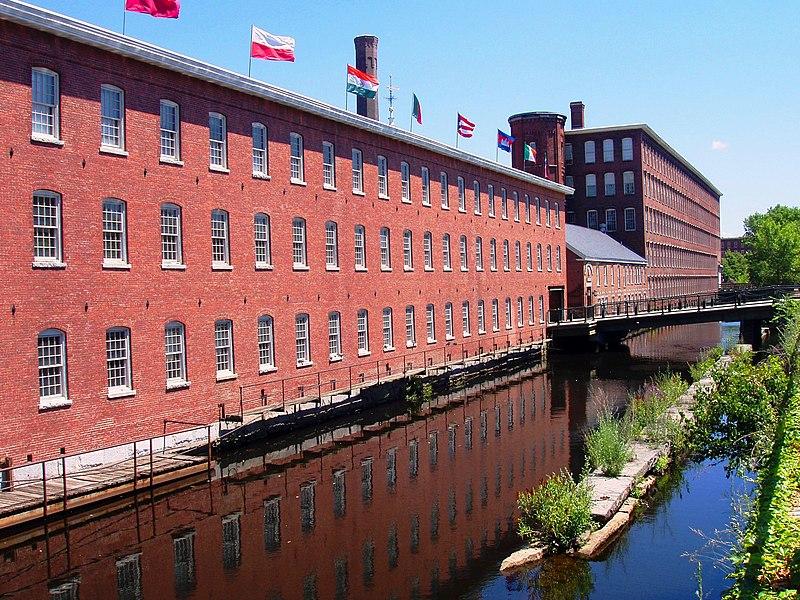 File:Mill Building (now museum), Lowell, Massachusetts.JPG