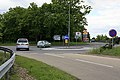 Mini-roundabout on south side of A31, Picket Post - geograph.org.uk - 178633.jpg