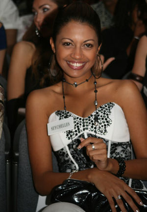 Women in Seychelles - Miss Seychelles 2008, Elene Angine