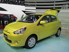 Image illustrative de l'article Mitsubishi Mirage