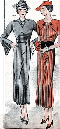 Fashions from 1936.