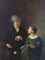 Mohov Mihail Grandmother and Granddaughter.jpg