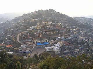 Mokokchung Town and municipality in Northeast India, India